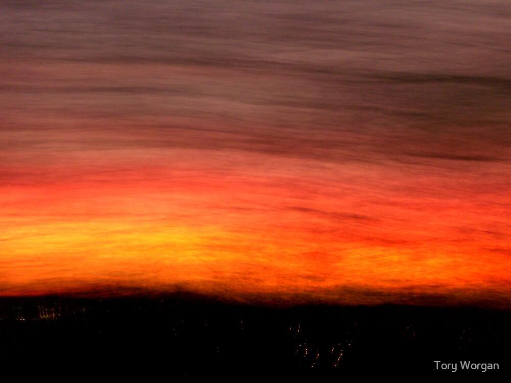 Paris Sunset by toryworgan