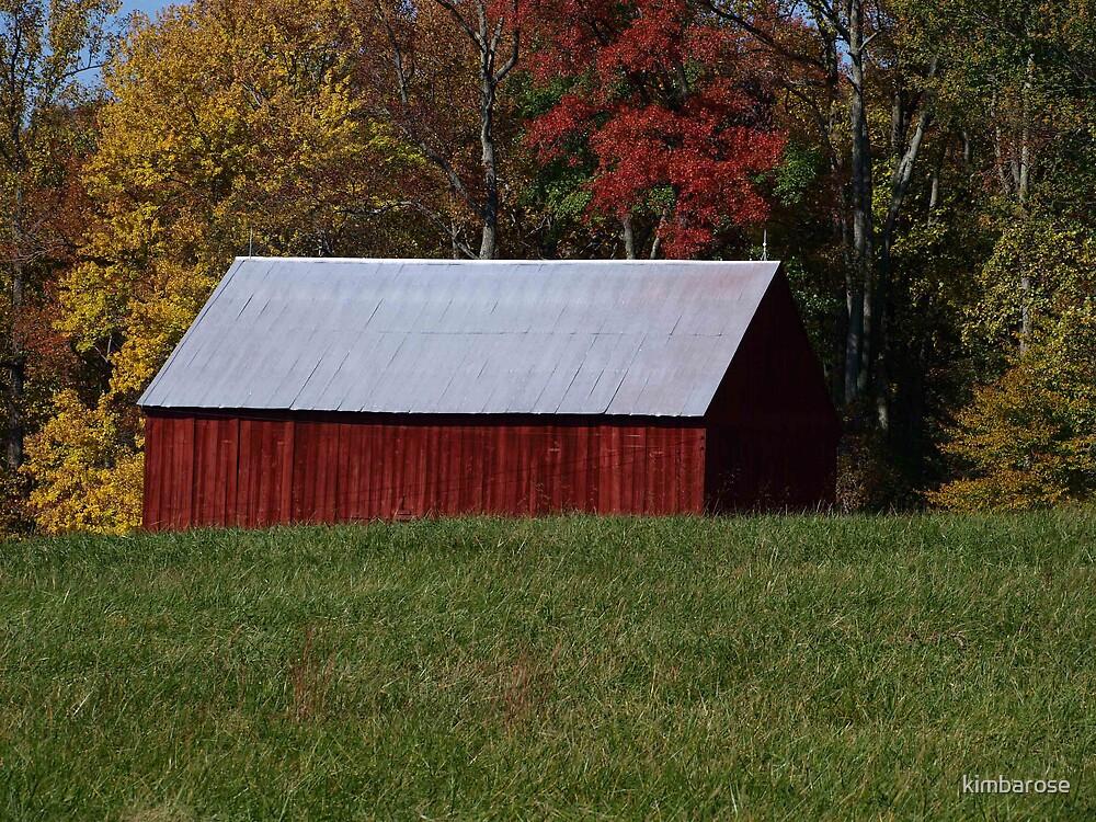 Country Barn by kimbarose