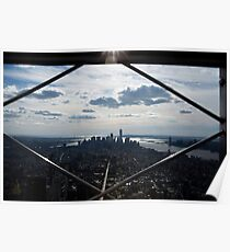 Downtown View Poster