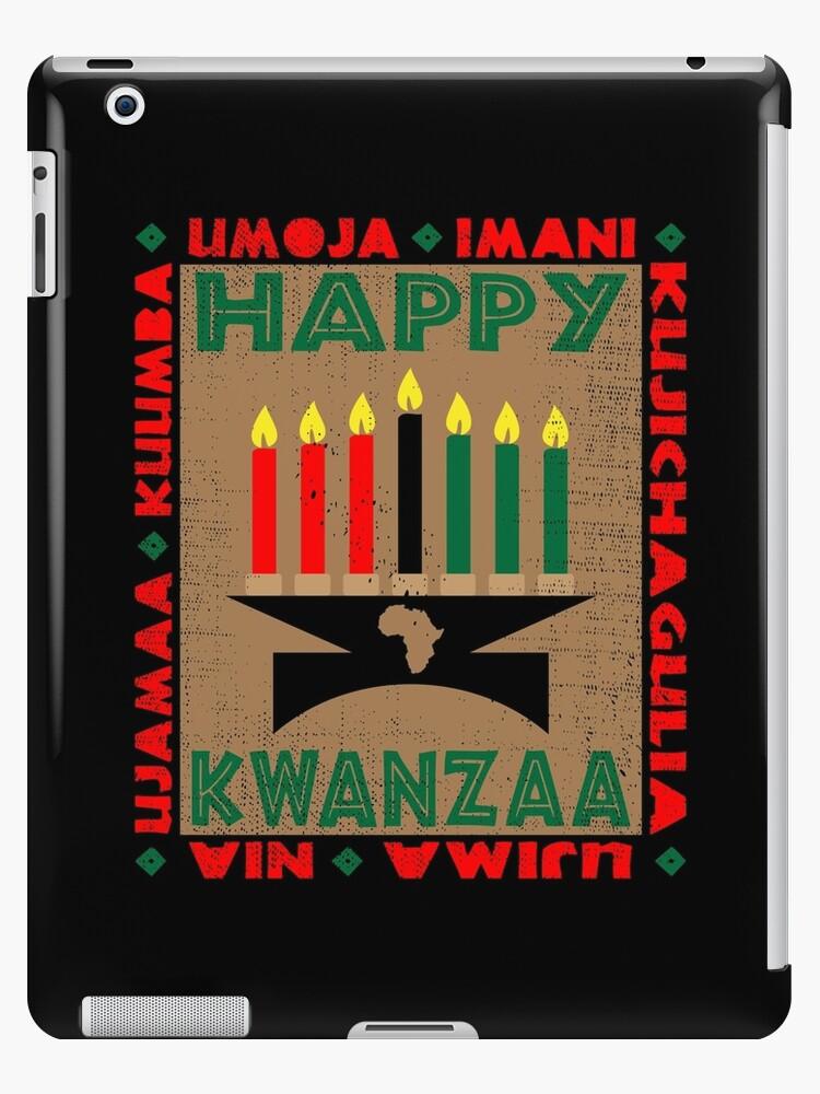 Happy Kwanzaa by EthosWear