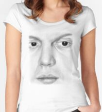 Evan Peters Women's Fitted Scoop T-Shirt