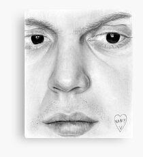 Evan Peters Canvas Print