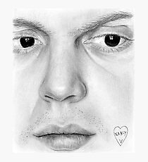 Evan Peters Photographic Print