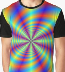 Psychedelic Whirl  Graphic T-Shirt