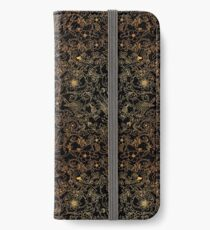 Dark Golden Magic Forest iPhone Wallet/Case/Skin