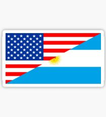 usa argentina Sticker