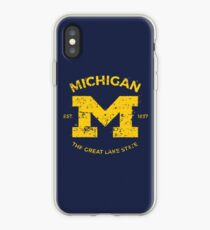 Michigan + Nickname - Vintage & Retro iPhone Case