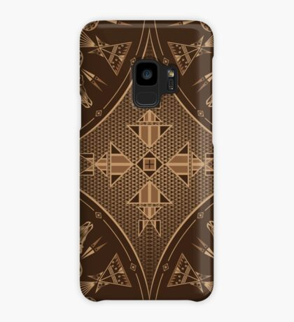Buffalo Gathering Brown Case/Skin for Samsung Galaxy