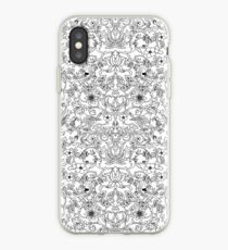 White and Black Magic Forest iPhone Case