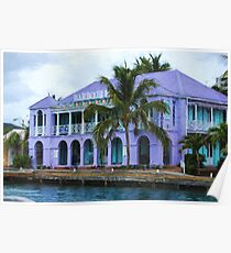 Colorful Shopping Experience on Tortola, British Virgin Islands Poster