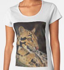 Clouded Leopard Women's Premium T-Shirt