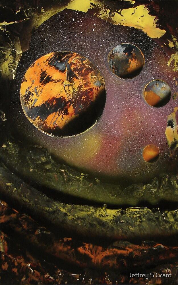 Lunar Lookout by Jeffrey S Grant