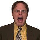 Dwight Schrute Schreien von Freshfroot