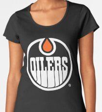 Oilers Logo Women's Premium T-Shirt