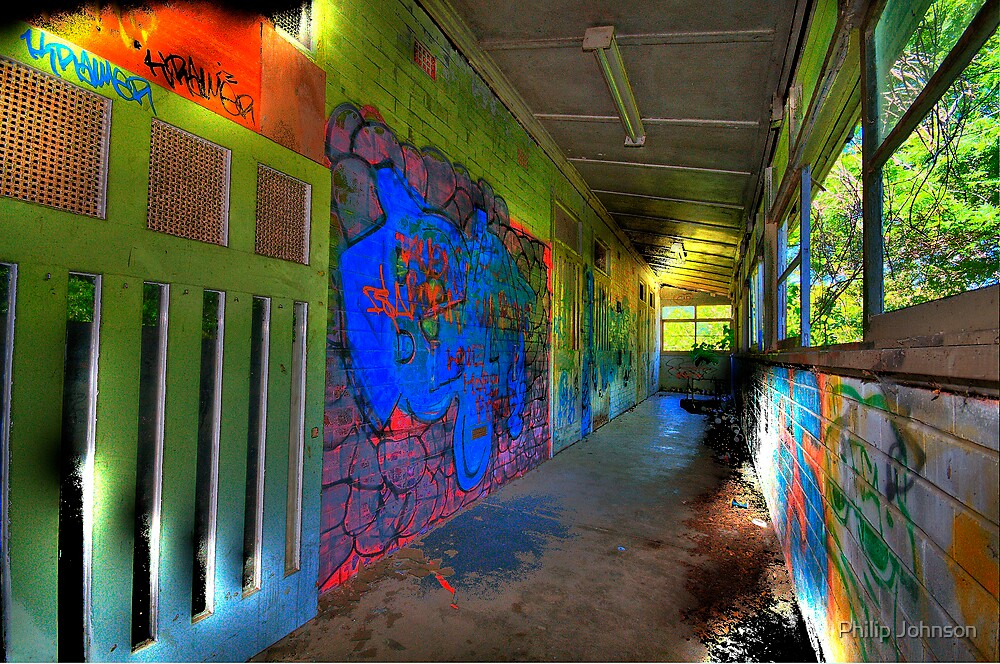 """Psychedelic """"Art"""" ? - Rozelle Hospital The HDR Series by Philip Johnson"""