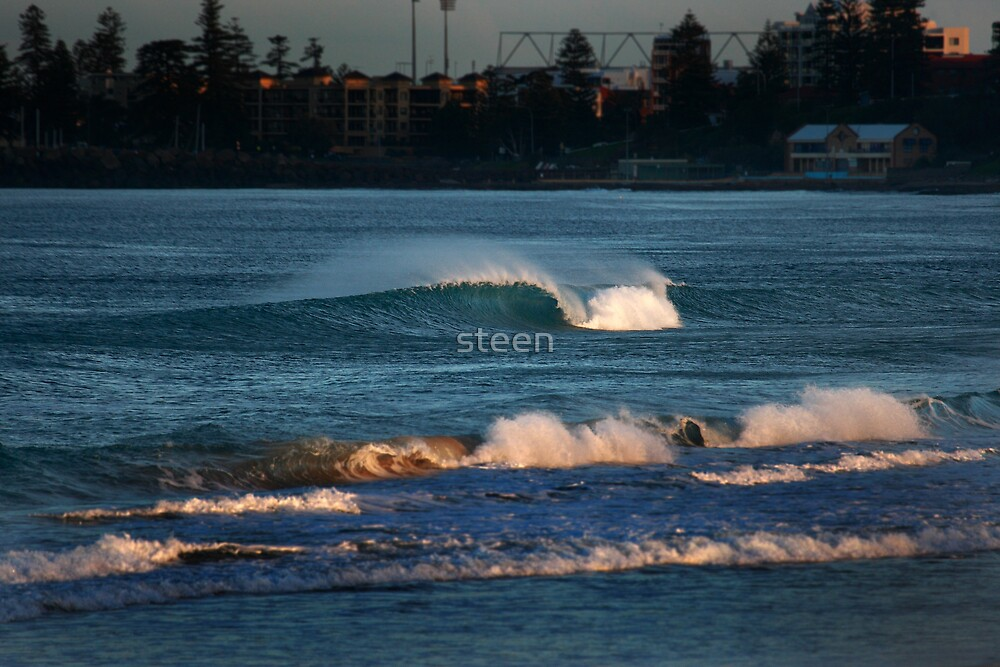 a lone city wave by steen
