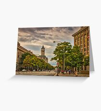 Early Evening on Pennsylvania Greeting Card