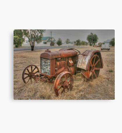 Attractive Tractor Canvas Print