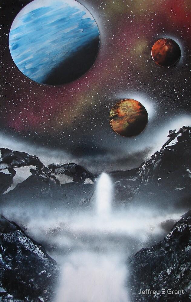 Galaxian Getaway by Jeffrey S Grant