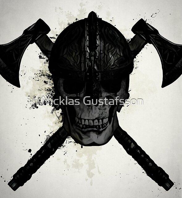 Viking Skull by Nicklas Gustafsson