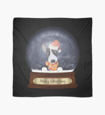 English Bull Terrier Christmas Gift Scarf