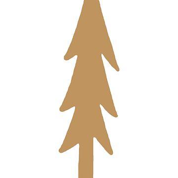 pine tree by lyricallyinclin
