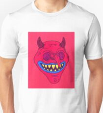 Grinning Devil Design T-Shirt