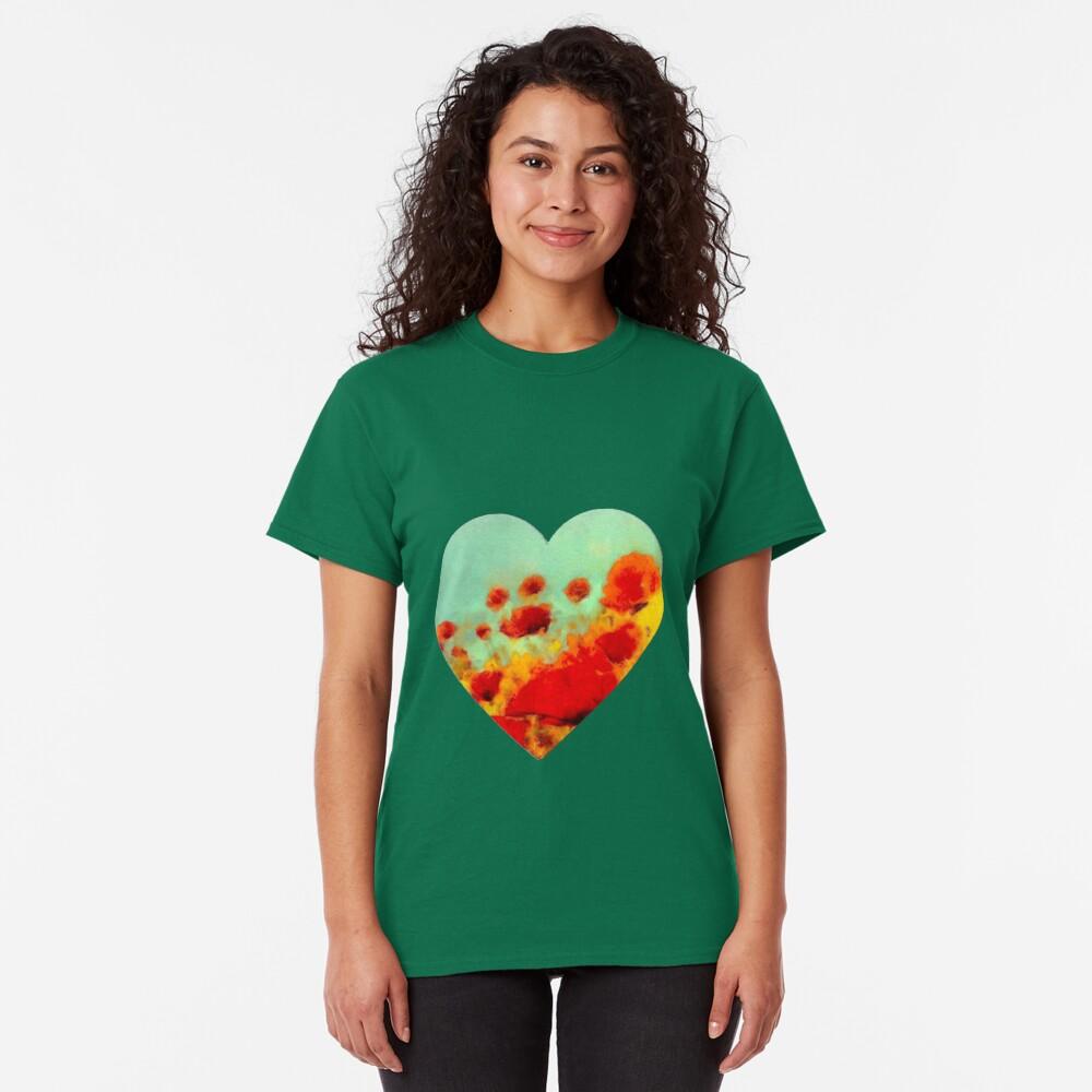 Poppy time  Classic T-Shirt