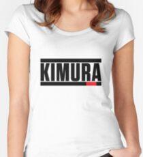 Kimura Brazilian Jiu Jitsu (BJJ) Women's Fitted Scoop T-Shirt