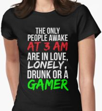 All Night Gamer Funny Video Game T-shirt T-Shirt