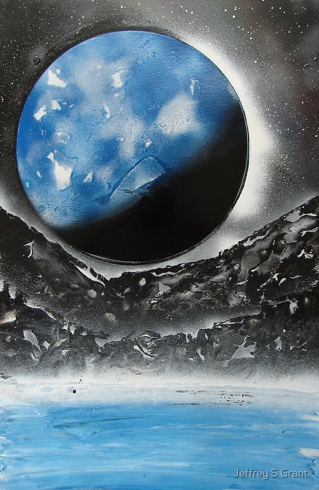 Blue Moon / Black Daze by Jeffrey S Grant