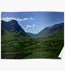 Glencoe, Scotland Poster