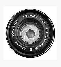 Helios 44m Photographic Print