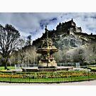 Edinburgh Castle HDR by David Rankin