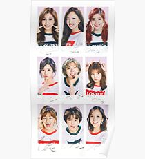 TWICE - CECI // Group Poster