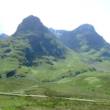 Glencoe, Scotland by goldyart