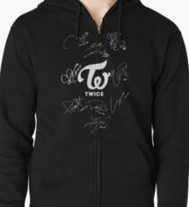 TWICE - Signed With Logo Zipped Hoodie