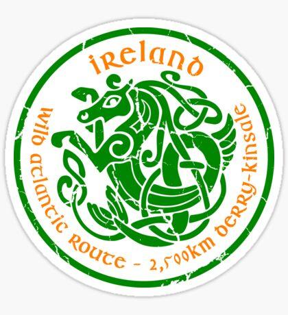 Wild Atlantic Route, Ireland - Celtic Sea Horse T-Shirt & Sticker Design 1 Sticker