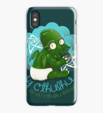 A cute baby Cthulhu iPhone Case/Skin