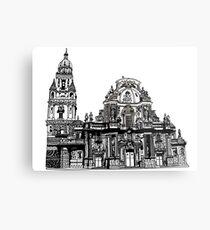 Catedral de Murcia - España Metal Print