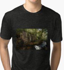 Ruined Gunpowder Mill - Cornwall Tri-blend T-Shirt