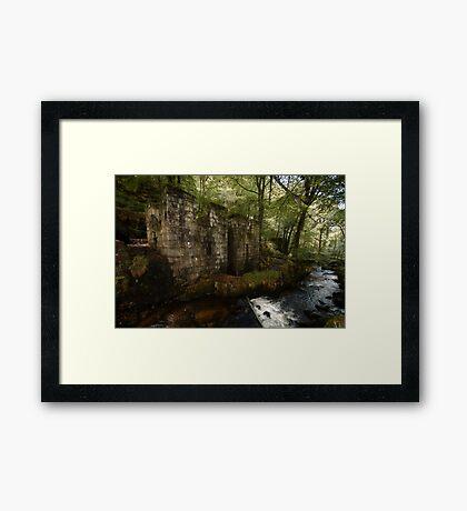 Ruined Gunpowder Mill - Cornwall Framed Print