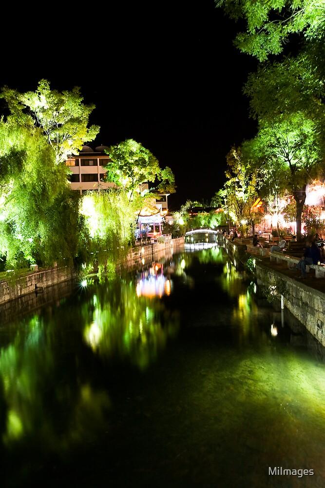 Lijiang River Night Scene by MiImages