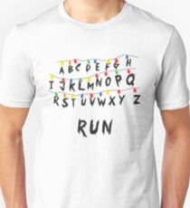 Stranger Things Lamp Run T-Shirt