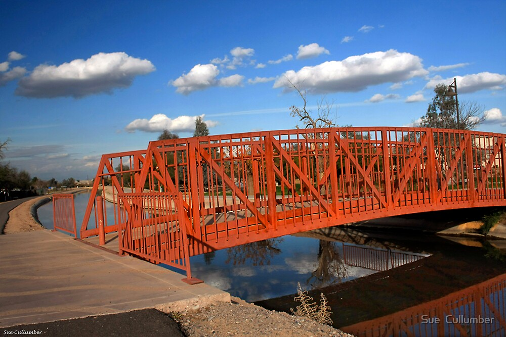 The Red Bridge by Sue  Cullumber