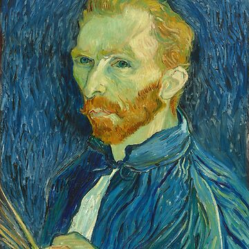 Vincent Van Gogh Self Portrait 1889 by PinkCarmine