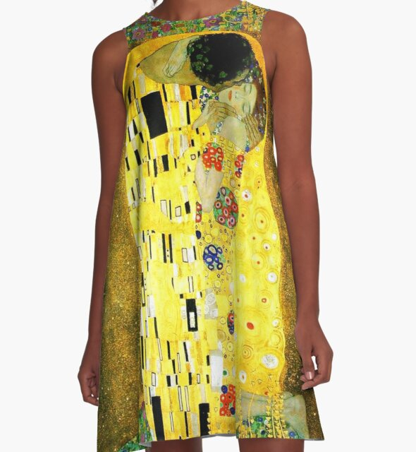 The Kiss by Gustav Klimt by Vintage Designs