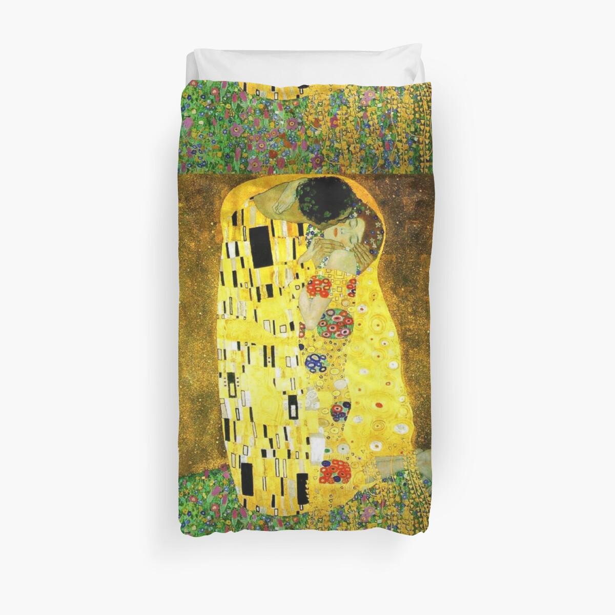 The Kiss by Gustav Klimt by Vintage Designs