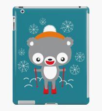 Ski Bär iPad Case/Skin
