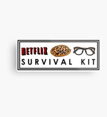 SURVIVAL KIT Metal Print
